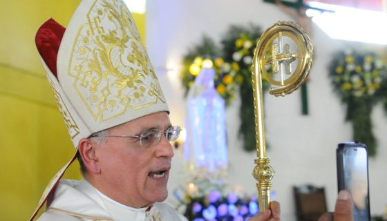 El obispo Silvio Báez criticó fuertemente al CSE dos días antes de que se realizaran las elecciones municipales 2017. LA PRENSA/ ARCHIVO