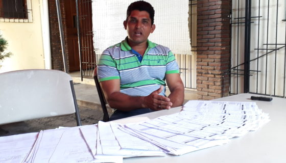 José Jesús Sequeira, candidato a alcalde de Ciudadanos por la Libertad (CxL) en San Miguelito (Río San Juan). LA PRENSA/L. ÁLVAREZ