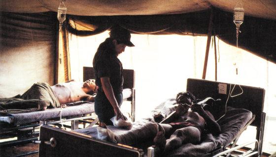 médicos de la guerra