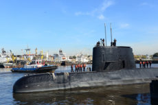 submarino desaparecido, Argentina