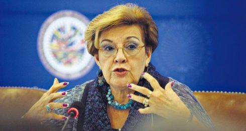 Esmeralda Arosemena, relatora especial de la niñez de la CIDH. LA PRENSA/ CORTESÍA CIDH