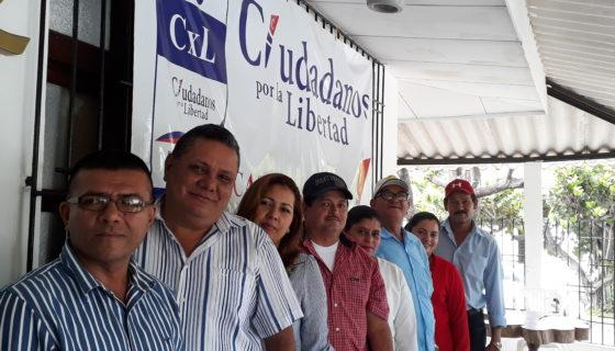Alcaldes electos de Ciudadanos por la Libertad (CxL).