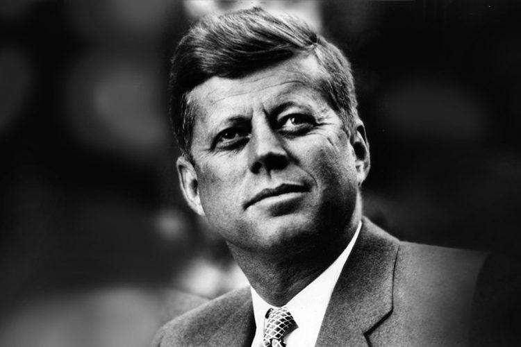John F. Kennedy, el 35 presidente de los Estados Unidos.
