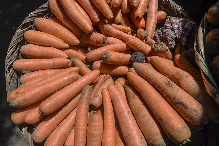 El precio de la Zanahoria es uno de los productos que más ha aumentado. LA PRENSA/ ARCHIVO