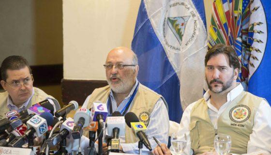 OEA, informe votaciones, municipales, Nicaragua, 2017, fraude
