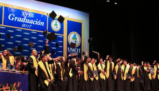 Graduación, Unicit, celebración, emprendimiento
