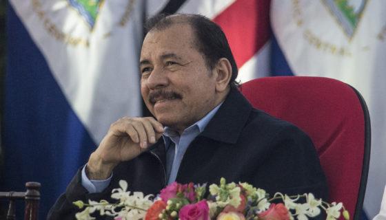 Daniel Ortega, presidente designado por el Consejo Supremo Electoral.