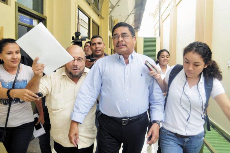 Francisco López, tesorero del FSLN y uno de los señalados por legisladores de EE.UU. LA PRENSA/ Maynor Valenzuela