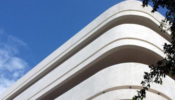 La Ciudad Blanca en Tel Aviv, una collección de más de 4.000 edificios es ejemplo de la influencia del estilo de la escuela Bauhaus en el mundo. IAISI/GETTY