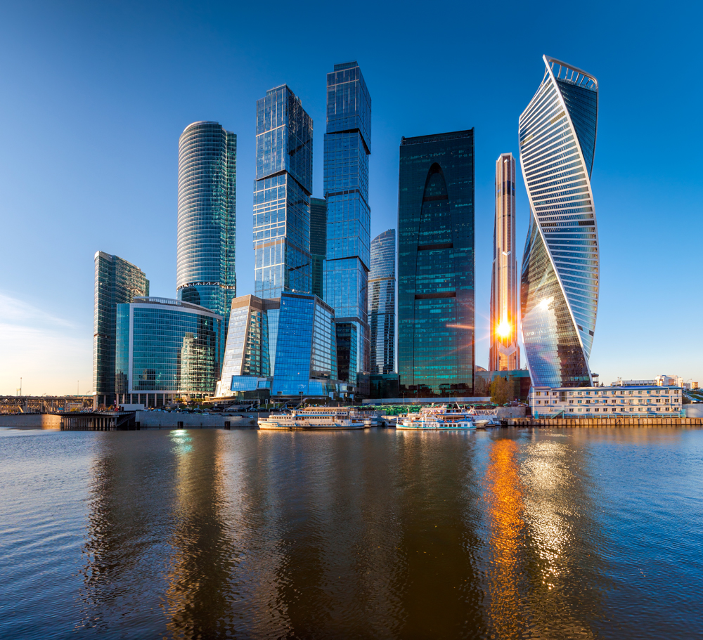 El complejo económico de Moscú muestra la cara más moderna de la ciudad. LA PRENSA / Thinkstock.