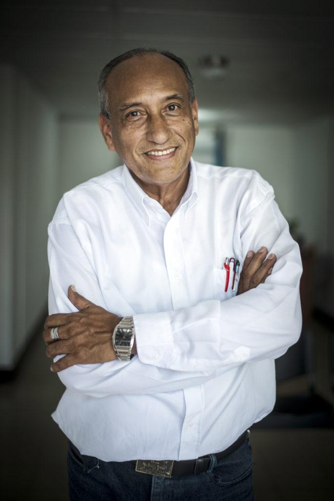 Cirilo Otero, sociólogo y catedrático. LA PRENSA / Óscar Navarrete.