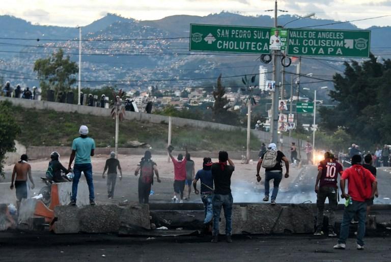 Honduras, protestas en Honduras, elecciones en Honduras