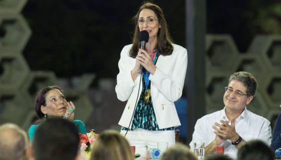 Michele Richardson, complejo de piscinas, juegos centroamericanos 2017