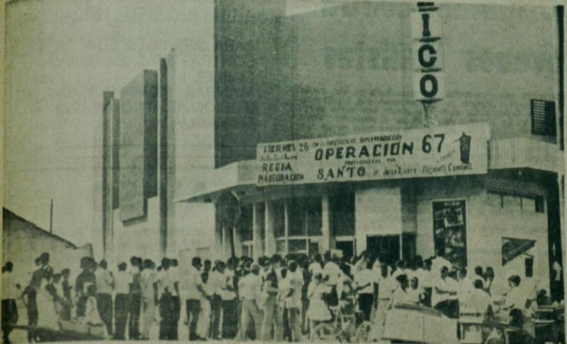 Cine México, situado en el Mercado Oriental. LA PRENSA/Archivo