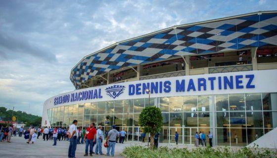 La inauguración de los Juegos Centroamericanos 2017 se realizará en el nuevo Estadio Nacional de Beisbol Dennis Martinez. LA PRENSA/ JADER FLORES