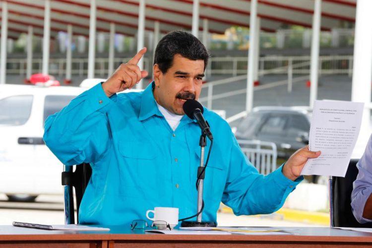 Nicolás Maduro aspira a ser reelecto como presidente de Venezuela en 2018. LA PRENSA/ AFP