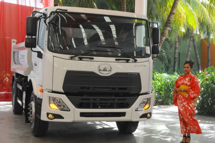 Maquipos, lanzamiento, nuevos camiones, UD Trucks, vehículos de carga