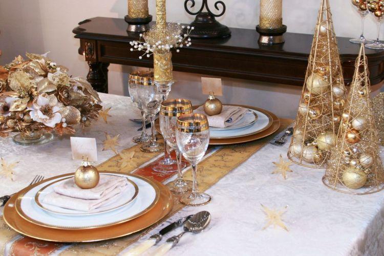 C mo decorar la mesa navide a la prensa - Como decorar la mesa de navidad ...