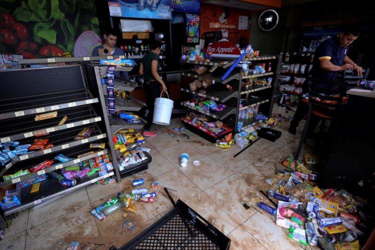 Los saqueos en Tegucigalpa, Honduras tras los resultados de las elecciones presidenciales. LA PRENSA/ EFE