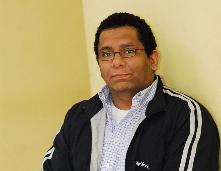 Escritor, editor y promotor Ulises Júarez Polanco. LA PRENSA/Archivo