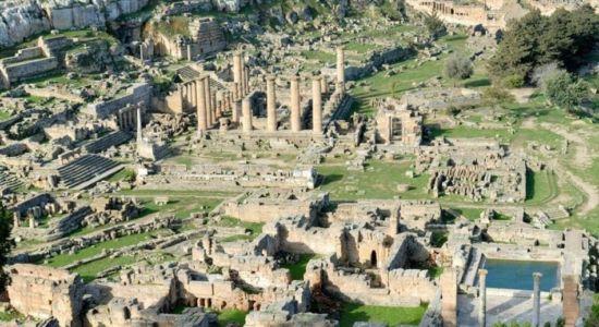ALAMY Image caption La antigua Cirene está emplazada en el actual territorio de Libia.