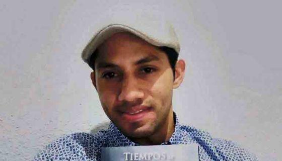 El joven poeta Edgar Díaz. LA PRENSA/Cortesía