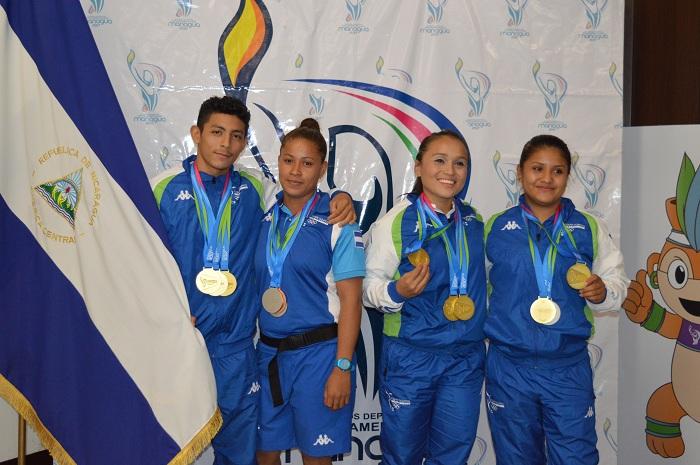 Medallistas, Juegos Centroamericanos de Managua 2017