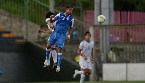 Nicaragua perdió 1-0 frente a El Salvador, en el partido por el bronce del futbol. LA PRENSA/JADER FLORES