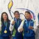 Judocas nicas de oro tienen grandes aspiraciones en la vida y el deporte