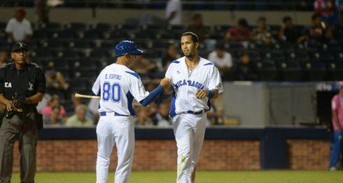 Cheslor Cuthbert ha decidido las dos victorias de Nicaragua en los Juegos Centroamericanos. LA PRENSA/ CARLOS VALLE