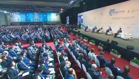 Reunión de la Organización Mundial de Comercio (OMC) en Buenos Aires, Argentina. LA PRENSA/ AGENCIAS