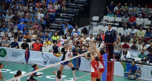 Voleibol femenino, Juegos Centroamericanos de Managua 2017