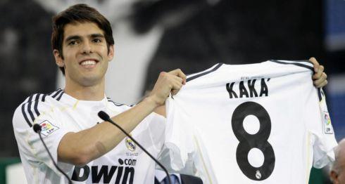 Kaká durante su etapa en el Real Madrid. LA PRENSA/ARCHIVO