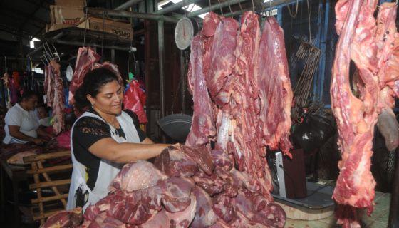 Carnes pueden subir hasta cinco córdobas, dicen comerciantes. LA PRENSA/ ARCHIVO