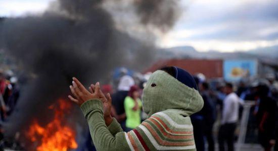 Honduras, protestas en honduras