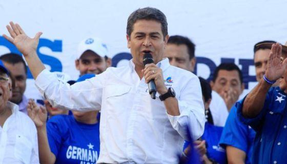 Juan Orlando Hernández, Honduras, presidente de honduras