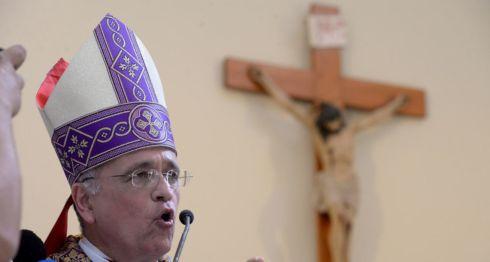 Monseñor Silvio Báez, obispo auxiliar de la Arquidiócesis de Managua. LA PRENSA/ ARCHIVO