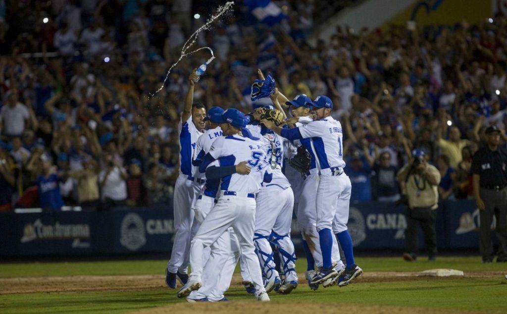 Nicaragua ganó oro en Béisbol en los Juegos Centroamericanos. LA PRENSA/ EFE