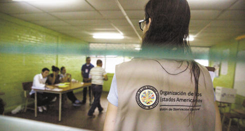 OEA. informe final, elecciones Nicaragua, Wilfredo Penco