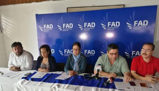 propuesta, 15 puntos, FAD, reforma electoral