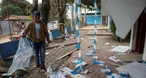 Jason POblete, VIOLENCIA ELECTORAL, elecciones nicaragua, elecciones municipales