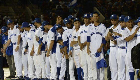 beisbol, Nicaragua, selección de beisbol