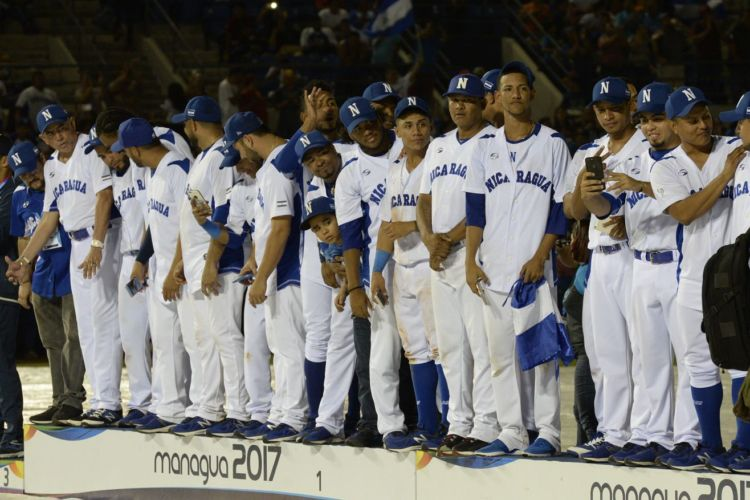 Nicaragua, Cuba, Federación Nicaragüense de Beisbol Asociado