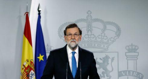 Mariano Rajoy, Cataluña