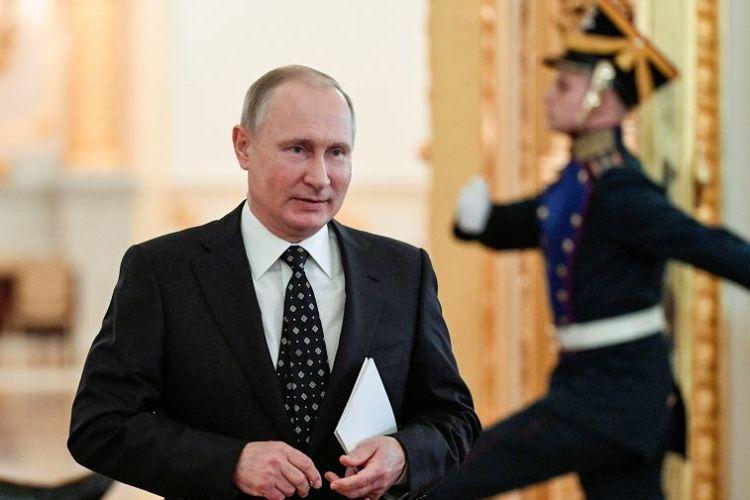 Vladímir Putin, Rusia