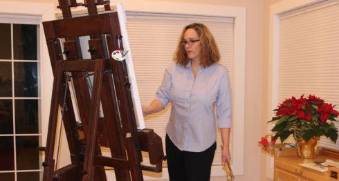 Clara María Pasos de Goldstein, pintora nicaragüense