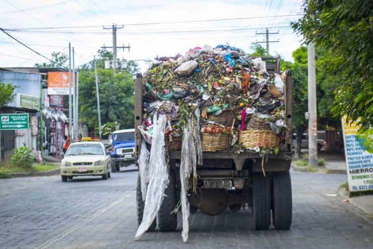 Basura, Managua