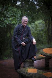 Monseñor Silvio Báez. LA PRENSA / Óscar Navarrete