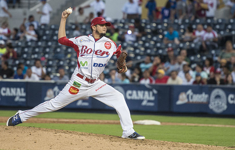 Fidencio Flores vestirá el uniforme del Bóer en la final del Campeonato Nacional de Beisbol, Germán Pomares. LA PRENSA/ARCHIVO/WILMER LÓPEZ