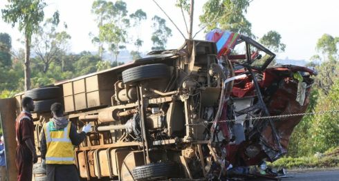 Kenia, accidente de tránsito